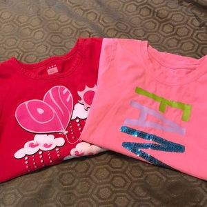 Other - Bundle of 2 Girls T Shirts - Size 6/6x